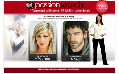 Sites de rencontre PassionSearch