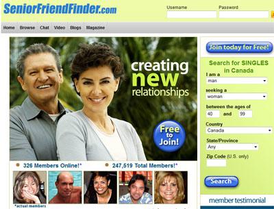 Test SeniorFriendFinder.com